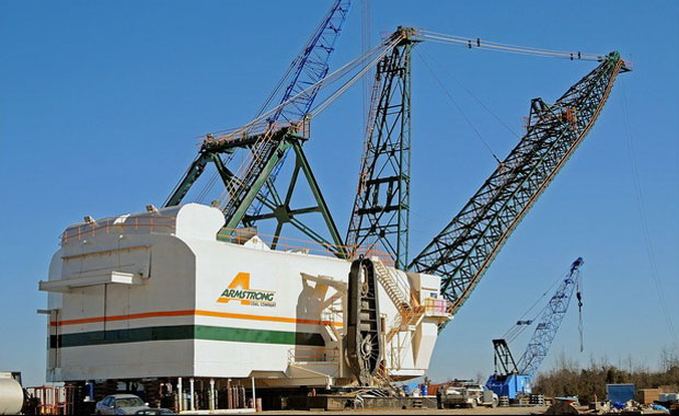 Bucyrus 2570W Walking Dragline